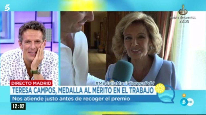 María Teresa Campos habla con 'El programa del verano'.