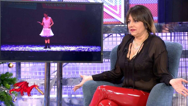 Yolanda Ramos, en Telecinco. (Mediaset).