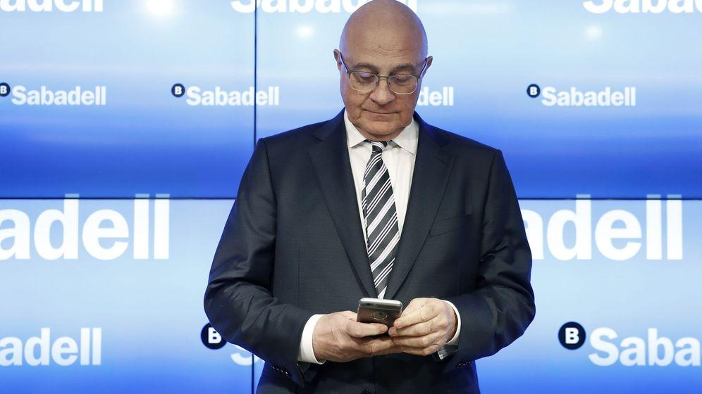 Foto: El presidente del Banco de Sabadell Josep Oliu