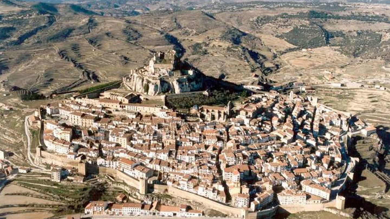 Así es el trazado medieval de esta villa. (Foto: Turismo de Morella)