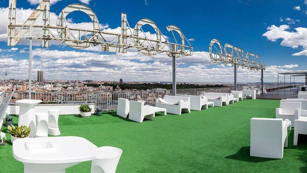 Foto: La terraza del Club Financiero Génova.