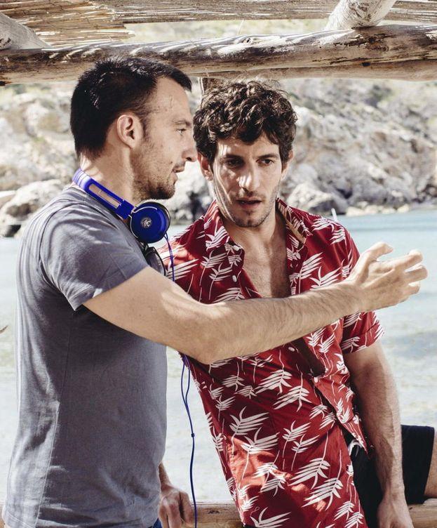 Foto: El actor junto a Alejandro Amenábar (efe)