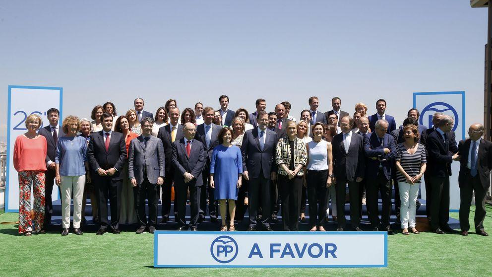 El PP hará una campaña triple: Rajoy, Cospedal y  Soraya con los ministros