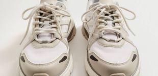 Post de Mango rompe el molde con sus nuevas zapatillas deportivas