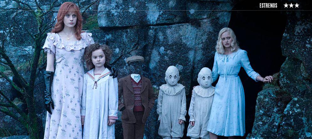 Foto: 'El hogar de Miss Peregrine para niños peculiares'.
