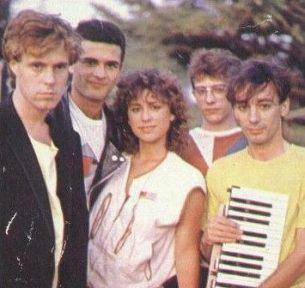 Imagen del grupo cuando la cantante era Vicky Larraz