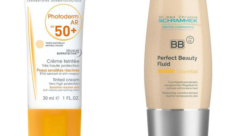 Protección solar con color de Bioderma y Dr. Schrammek.