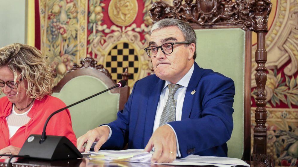 Foto: El alcalde de Lleida, Ángel Ros, durante el pleno municipal de este viernes. (D.B.)
