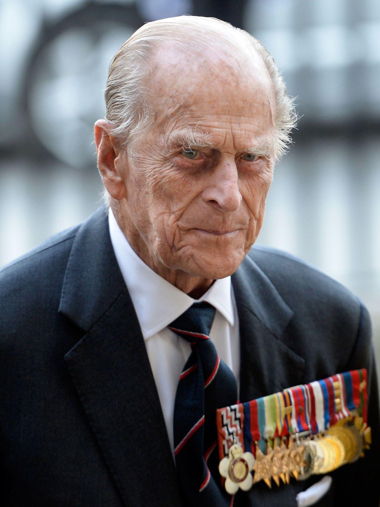 El duque de Edimburgo, en 2015. (EFE)