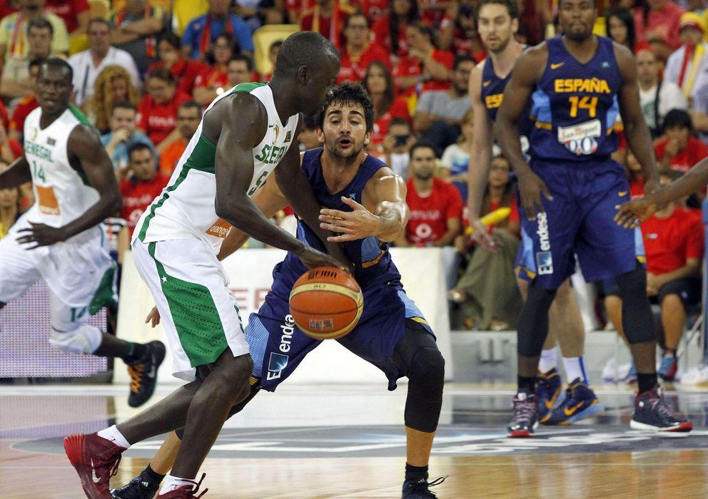 Foto: Senegal no fue rival para España en la gira de preparación (EFE)