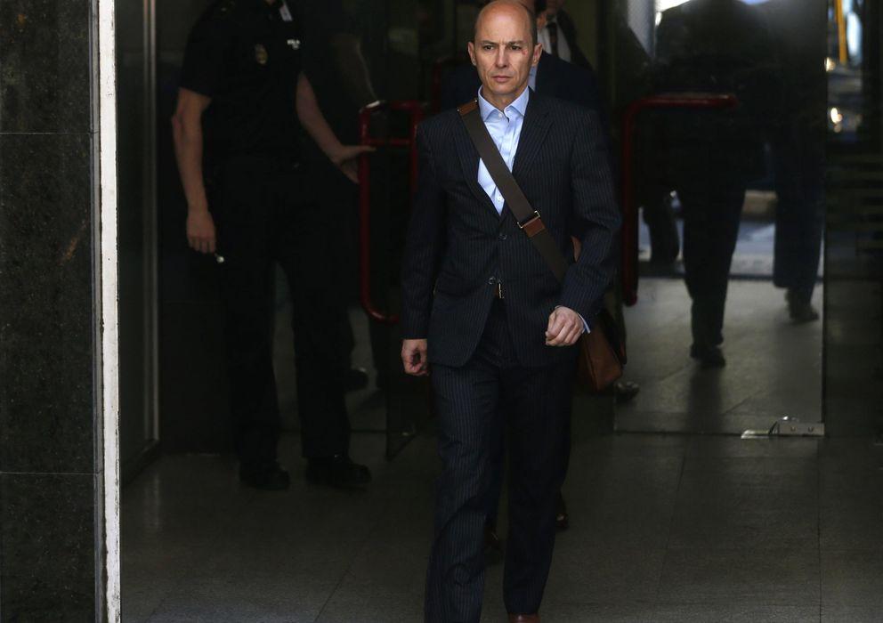 Foto: Jenaro Garcia, a su salida de la Audiencia Nacional el pasado lunes.