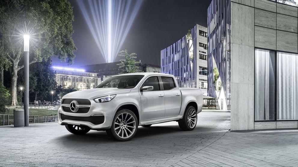 Mercedes prepara su entrada en los 'pick-up' de la mano de Nissan