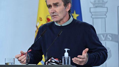 Fernando Simón, en rueda de prensa, tras la reunión del Comité