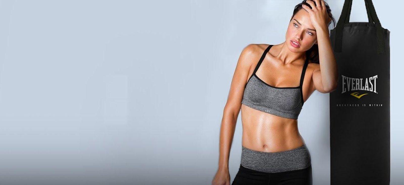 Foto: Probamos fitboxing, el deporte preferido de Adriana Lima