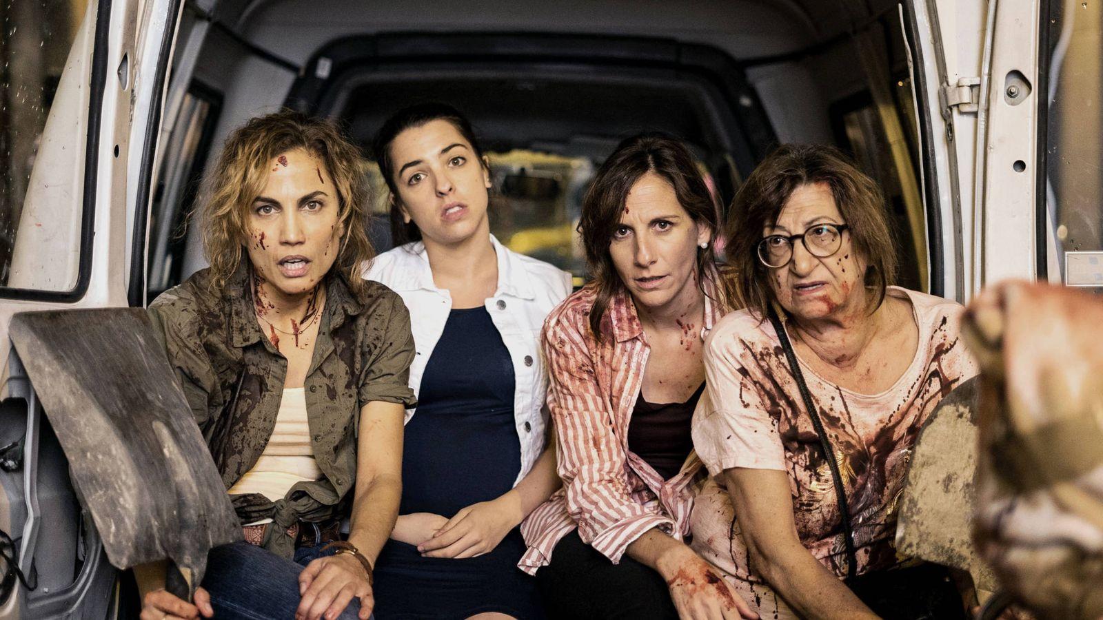 Foto: Las cuatro protagonistas de 'Señoras del (h)AMPA'. (Telecinco)