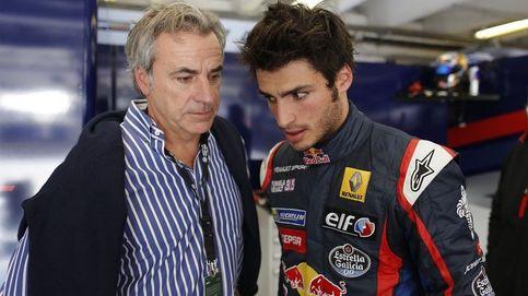 Cuando Carlos Sainz recibe de su hijo consejos para el Dakar ... y me regaña