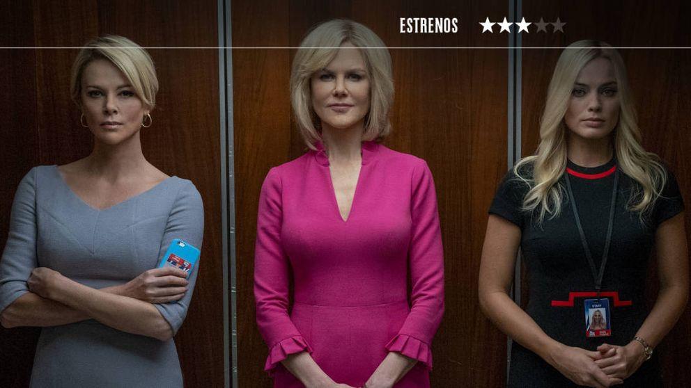 'El escándalo': sexo a cambio de trabajo. Así cayó la trama de abusos de Fox News