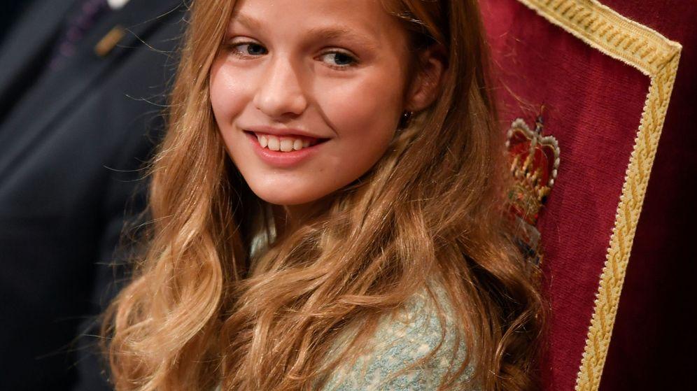 Foto: La Princesa de Asturias, durante los Premios. (Reuters)