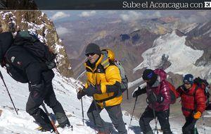 'It's the final countdown': llega el atacar la cumbre del Aconcagua