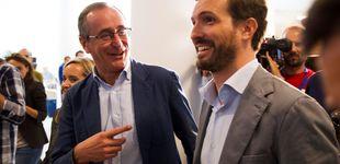 Post de Casado zanja la crisis con el PP vasco: