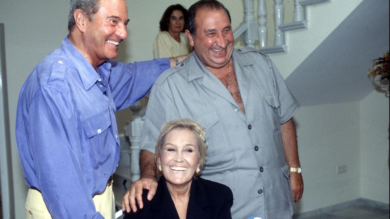 Encarna Sánchez, Jesús Gil y Arturo Fernández (Gtres)