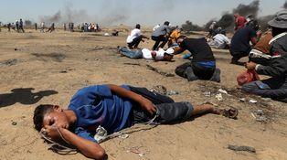 Los palestinos muertos no protestaban (solo) contra Israel. Querían que les mataran