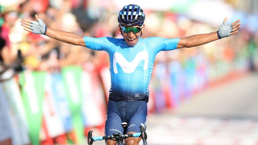 Nairo Quintana sí sabe atacar: su particular victoria en la Vuelta