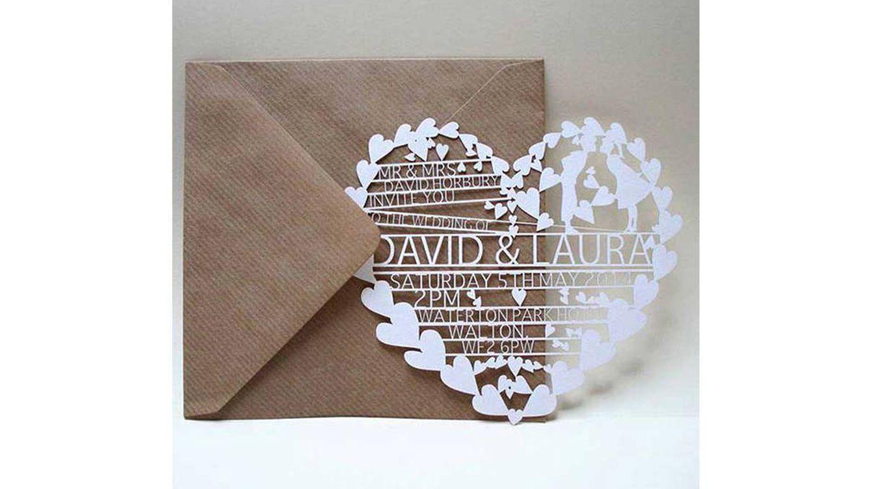 un comecocos de papel para anunciar tu enlace tus invitados irn detalles del mismo segn levanten partes