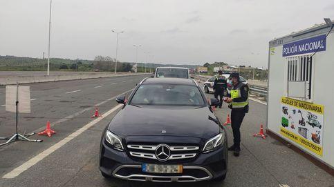 España prorroga los controles en la frontera con Portugal hasta el 17 de abril