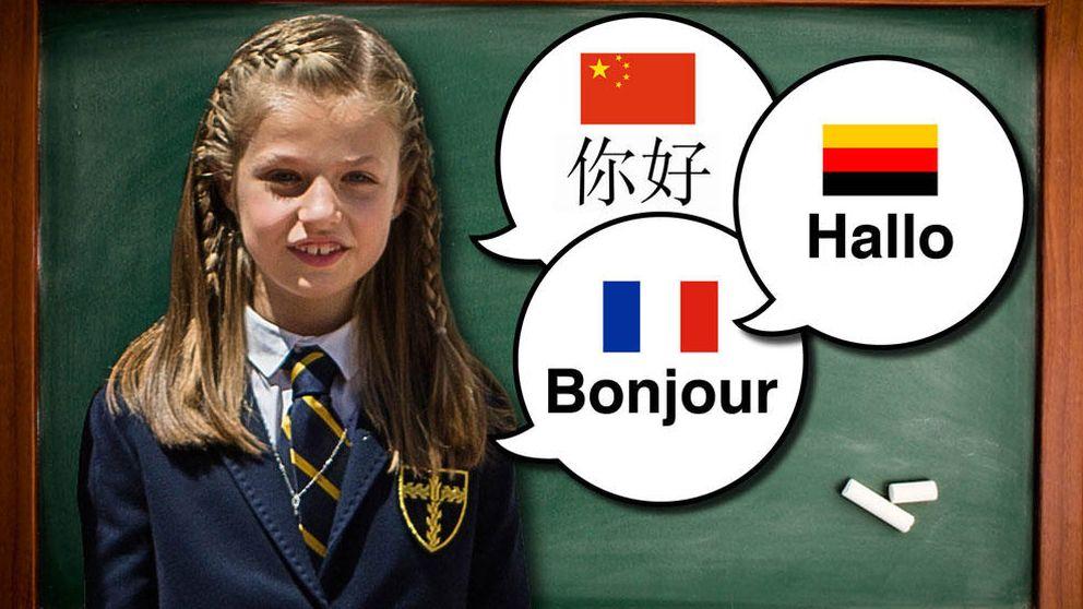El pequeño gran dilema de Leonor al empezar curso: alemán, francés o chino