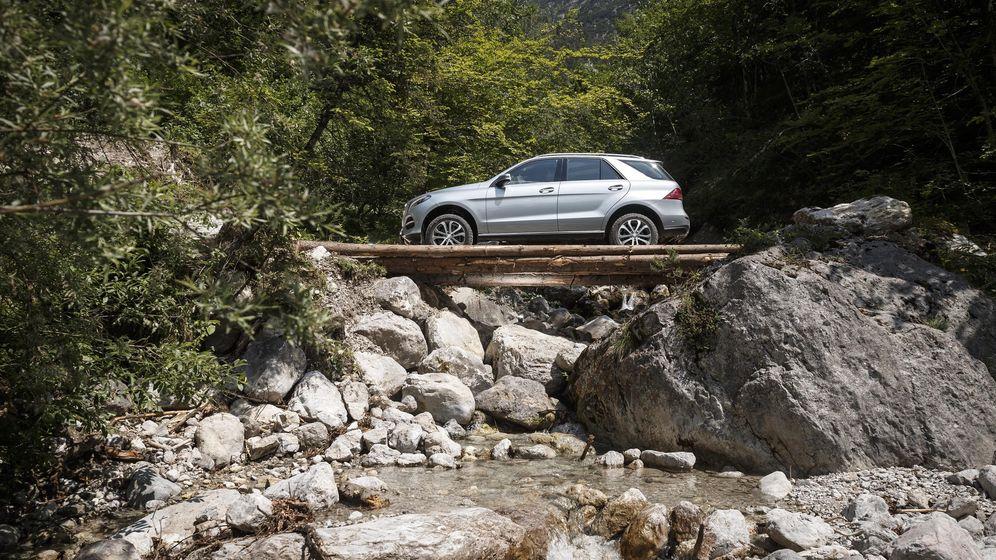 Foto: Mercedes GLE, coche para todo