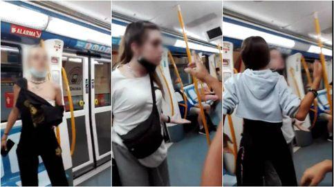 Detenidas las dos chicas que insultaron y escupieron a una pareja en el metro