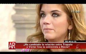 Beatriz Trapote se derrumba en directo