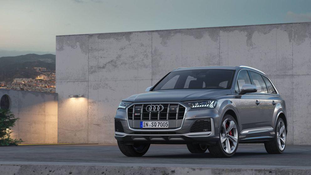 Audi se desmelena con el SQ7: su todocamino más potente y familiar