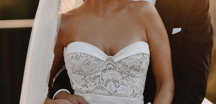 Post de Sylvie (ex de Van der Vaart) y el vestido para casarte de largo y blanco más allá de los 40