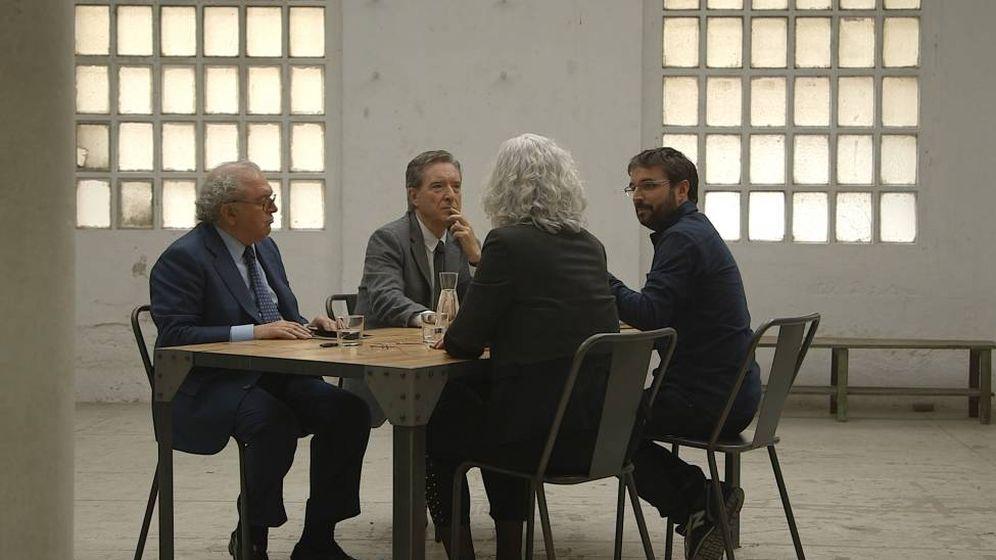Foto: Jordi Évole, en el debate posterior de 'Operación Palace'. (Atresmedia)