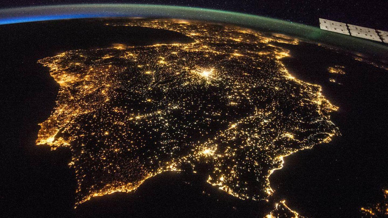 España vita desde la Estación Espacial Internacional. (NASA)