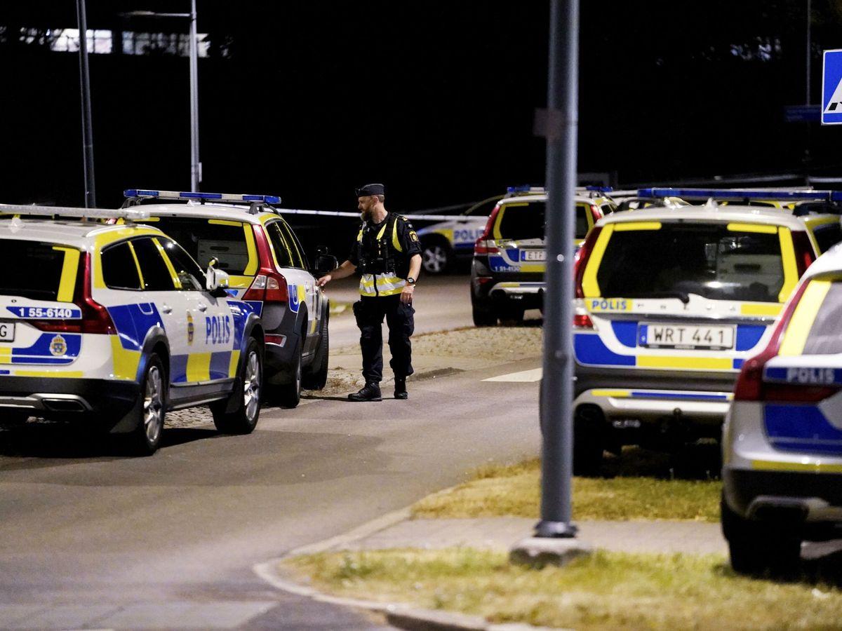 Foto: Policía en Gotemburgo. (EFE)