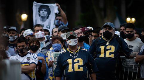 Los argentinos lloran a Maradona como solo ellos saben: Nos cortaron las piernas