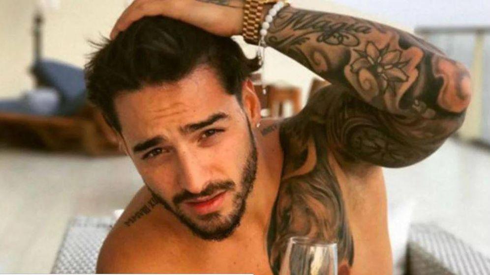 Foto: El cantante Maluma en una captura de un videoclip. (YouTube)