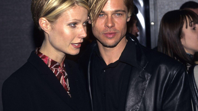 Gwyneth, con Brad Pitt cuando eran pareja. (Getty)