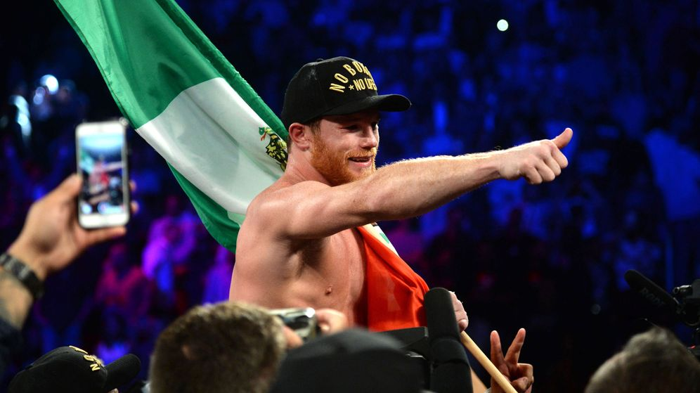 Foto: Canelo Álvarez quiere volver a pelear contra Mayweather (Joe Camporeale-USA TODAY Sports)