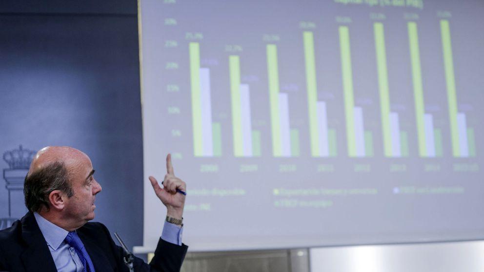 Guindos valora la caída del paro, pero avisa: aún se deben crear 2 millones de empleos
