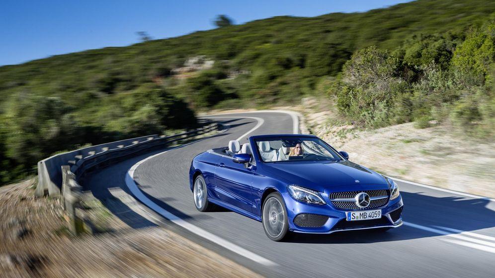 Foto: Un nuevo descapotable de Mercedes