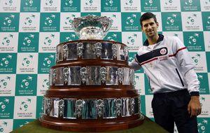 Djokovic busca su broche de oro tras ser coronarse en Londres