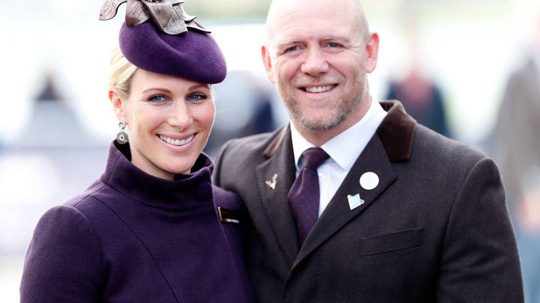 Zara y su marido, Mike Tindall. (Getty)
