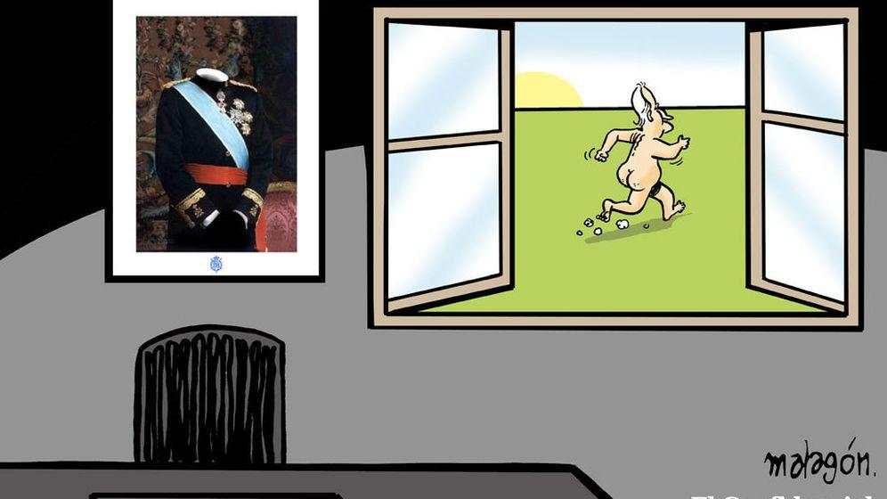 Foto: Don Juan Carlos, blindado judicialmente de todos los hechos sucedidos bajo su reinado