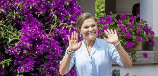 Post de La visita fugaz de Victoria de Suecia a Mallorca (y no para ver a Felipe y Letizia)