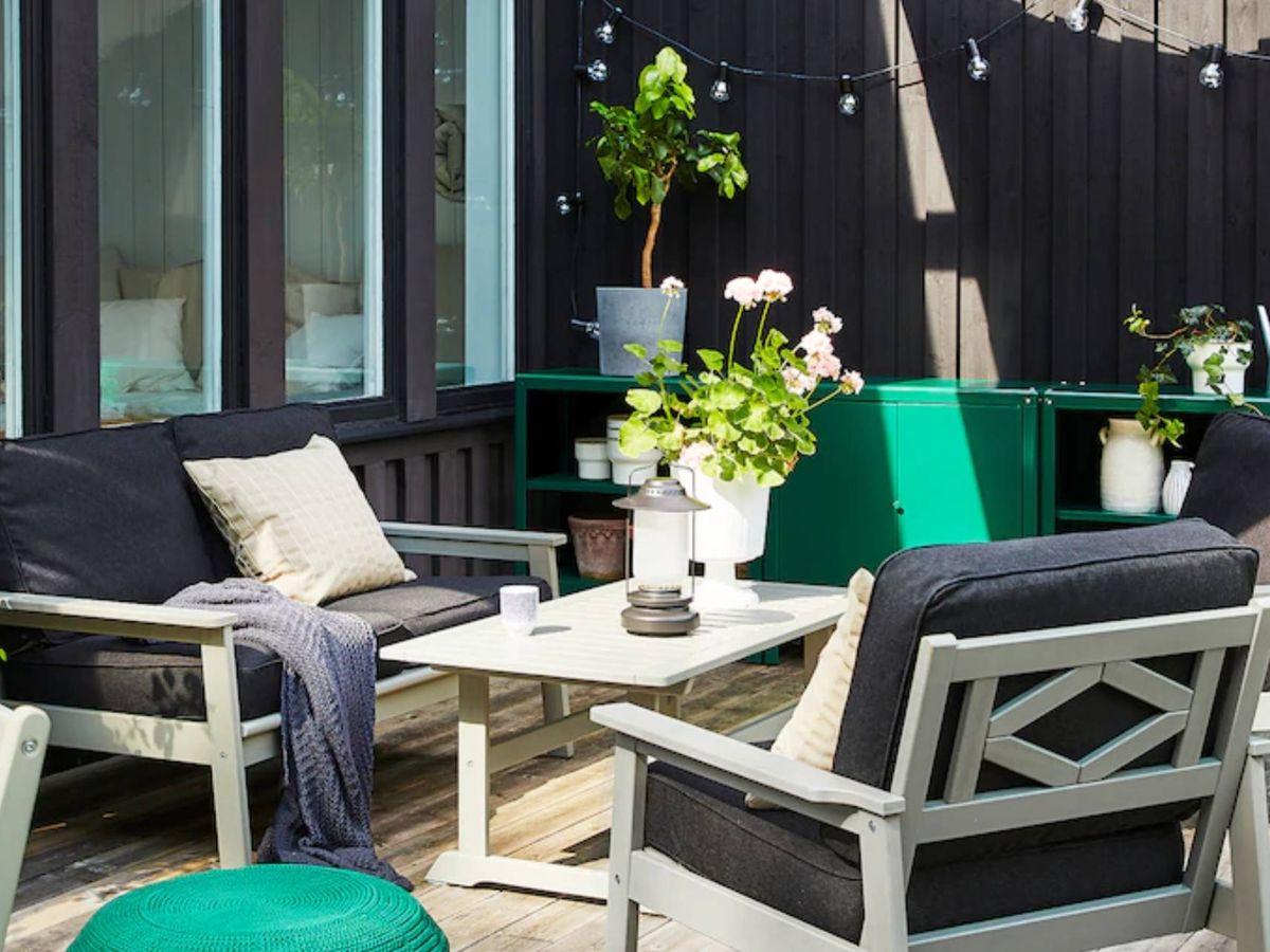 Foto: Tu terraza se merece estos descuentos de Ikea. (Cortesía)