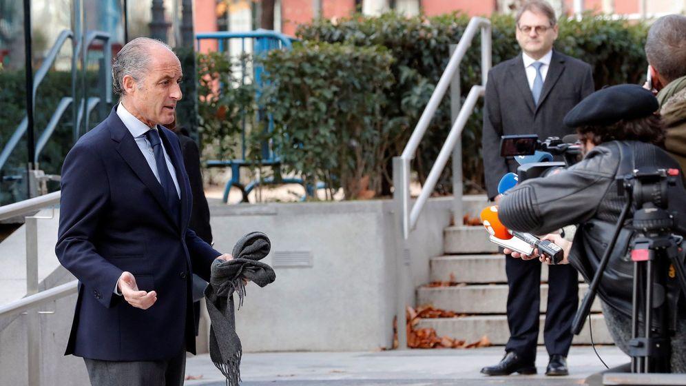 Foto: El expresidente valenciano Francisco Camps. (EFE)